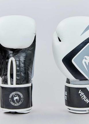 Перчатки боксерские кожаные на липучке VNM CONTENDER 2.0