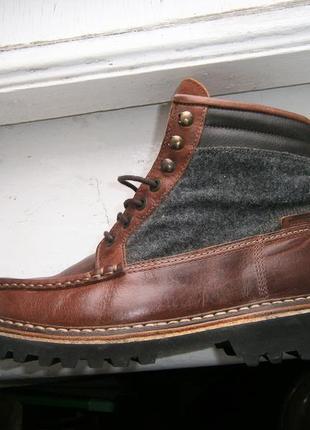 Ботинки wolverine 1883  ricardo men's leather classic оригінал...