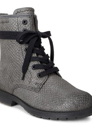 Ботинки высокие ecco bendix junior hydromax зимові оригінал ко...