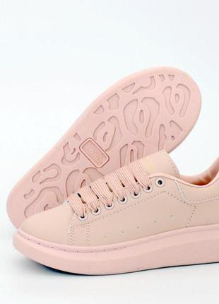 ✅кроссовки  alexander mcqueen pink женские