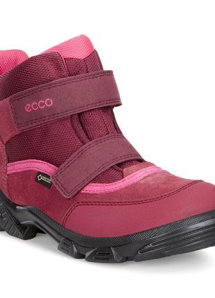 Ботинки ecco snowboarder зимові gore-tex оригінал