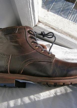 Ботинки australian footwear benson dark brown оригінал