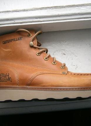 Ботинки cat glenrock mid cut moc toe wedge work boot p722103 о...