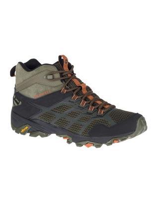 Ботинки зимові merrell moab fst 2 mid gtx, vibram megagrip,ори...