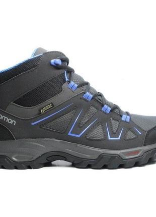 Ботинки треккинговые salomon tibai mid gtx gore-tex 399259 ори...