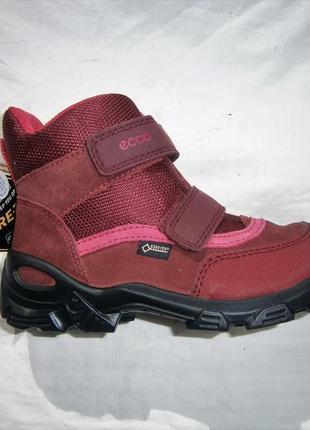 Ботинки ecco snowboarder зимові gore-tex оригінал  натуральная...