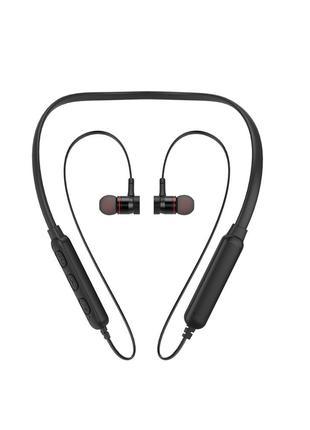 Беспроводные Bluetooth наушники Awei G10BL с шейным ободом Черные