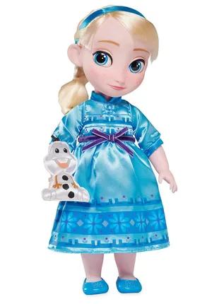 Кукла Дисней Эльза в детстве 40см, Холодное сердце,Frozen, Disney