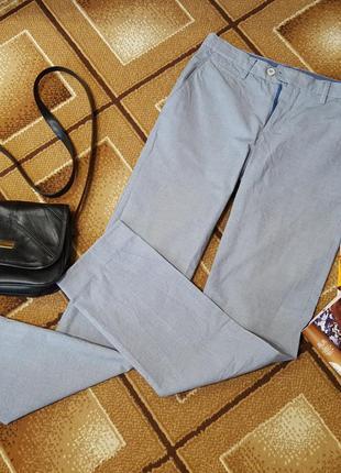 Летние крутые брюки хлопок oodji