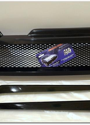 Решётка радиатора 2109 + реснички фар