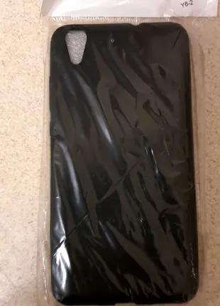 Новый чёрный чехол Huawei Y6 2