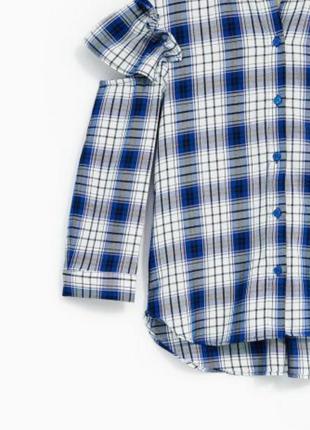 Стильная блуза/рубашечка с воланами zara