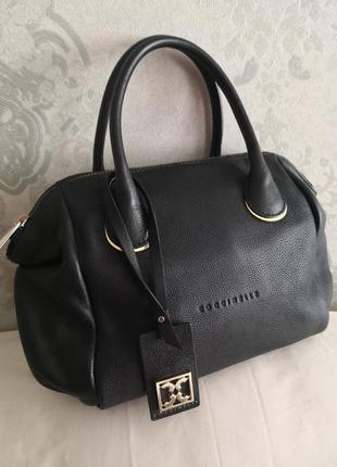 Шикарная брендовая кожаная сумочка coccinelle👜👜👑💥