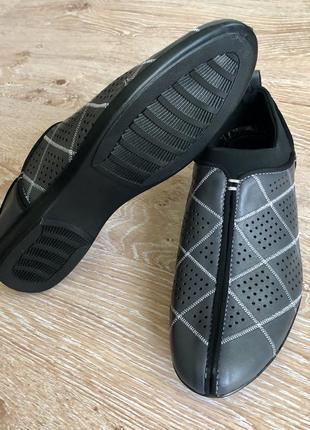 Новые мужские туфли - кеды 350 гр!