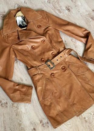Новая кожаная женская куртка maze.