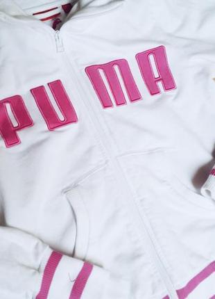 Женская спортивная кофта puma.