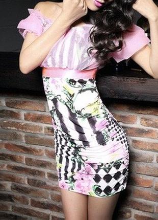 Новое женское мини платье.