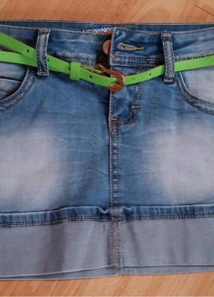 Новая женская джинсовая юбка.