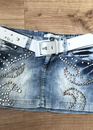 Новая женская юбка denim