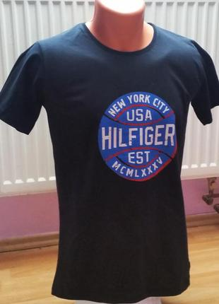 Новая мужская футболка hilfiger denim.
