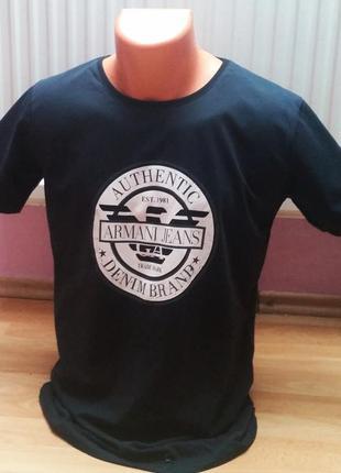 Новая мужская футболка armani jeans.