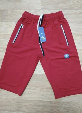 Новые мужские шорты с модным принтом.