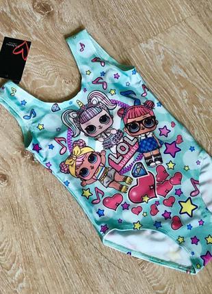 Новый купальник для девочки с куколкой лол.
