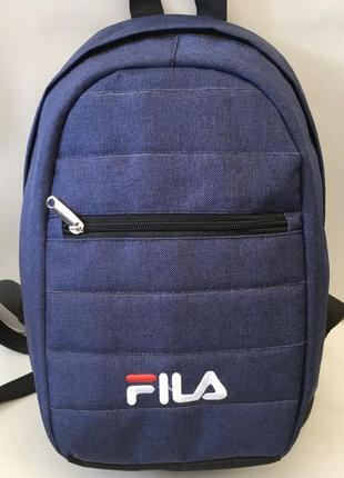 Новый рюкзак fila с ортопедической спинкой.