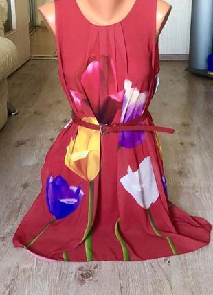 Новое женское платье италия.