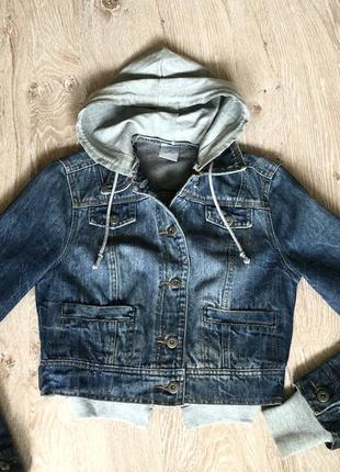 Новая женская джинсовая куртка fishbone.