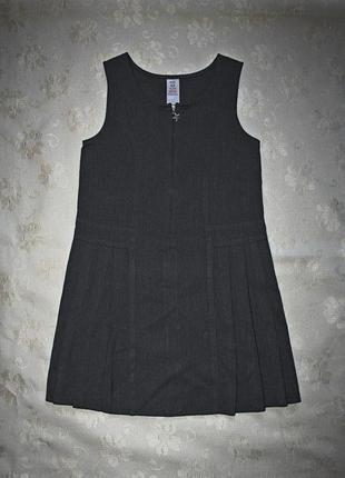 Школьный сарафан, платье f&f, р. 134, на 8-9 лет, 2 штуки в на...