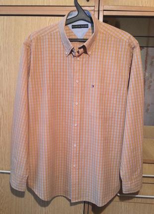 Рубашка tommy hilfiger.оригинал.