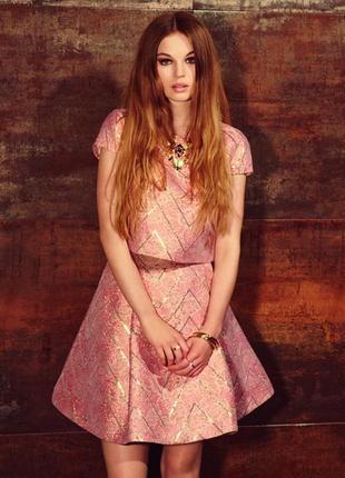 Крутая нарядная юбка miss selfridge, р. 10