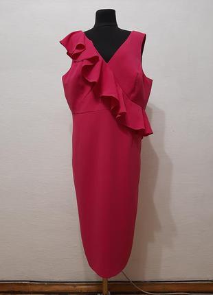 """Стильное модное платье """" barbie """" большого размера"""
