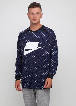 Футболка nike sportswear top ls knit (s; l; xl) оригинал! -20%