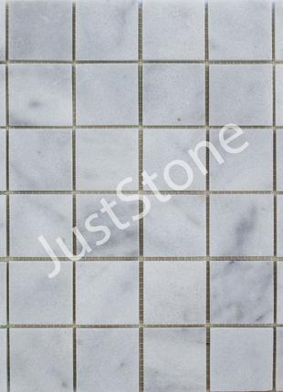 Белая Мозаичная плитка Полированная МКР-3П (47х47)