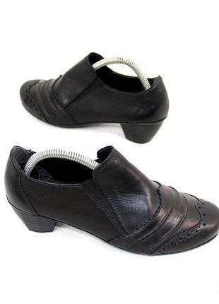 Туфли 36 р rieker германия натуральная кожа оригинал