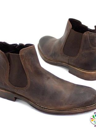 Кожаные ботинки andre франция 45 р деми оригинал