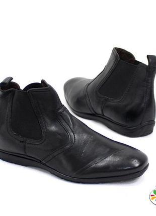 Ботинки-челси кожа andre 40 р демисезон оригинал