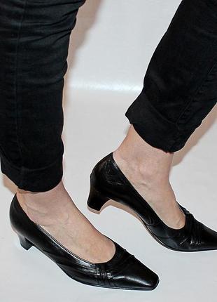 Туфли 39 р jenny by ara, германия, кожа полная, оригинал