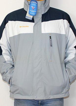 Куртка columbia interchange 3 в 1 сша 52 р оригинал