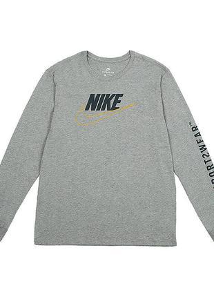 Футболка nike sportswear tee ls gx pack 2 (xl) оригинал! -20%