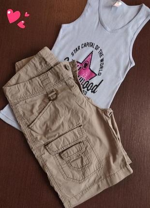 Удлиненные лёгкие шорты cons, одежда в стиле кежуэл