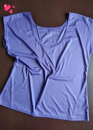 Майка, футболка спортивная с приспущенным плечом, одежда для ф...