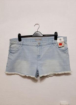 Стильные модные трендовые джинсовые шерты большого размера