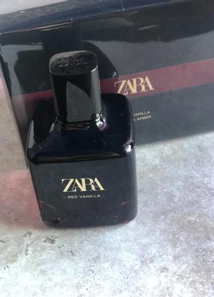 Духи zara red vanilla/парфюм/туалетная вода/парфуми/туалетна вода