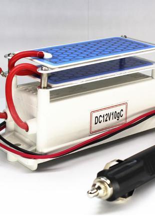 Озонатор бытовой 10г/час 12 вольт автомобиль сеть бортовая
