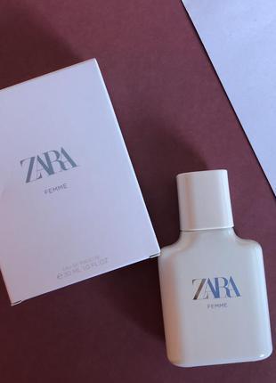 Парфюм zara femme 30мл/туалетная вода/парфуми/духи/туалетна вода