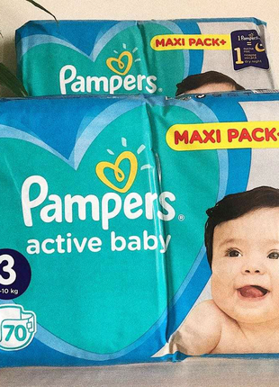 Pampers active baby 3