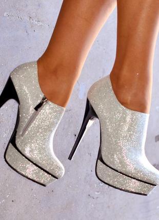 Belle women 8262b блестящие ботильоны ботинки туфли